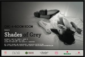 The Chic-A-Boom Room Presents: Shades of Grey (Vancouver, BC)