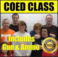 COED HANDGUN FUNDAMENTALS Includes Handgun, Ammo &...