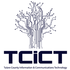 Tulare County Information & Communications Technology logo