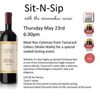 Sit-N-Sip with Tamarack Cellars