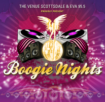 Boogie Nights at The Venue Scottsdale with Eva 95.5