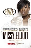 Missy Elliott Performs Live at Industry Thursday @ HAZE...