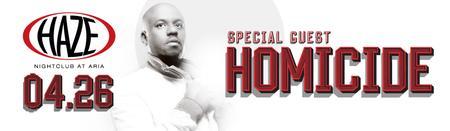 DJ Homicide Guest DJ Set at HAZE Nightclub