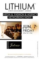 MEDIA & AGENCY  FASHION NETWORKING EVENING