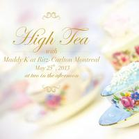 High Tea with Maddy K at Ritz Carlton