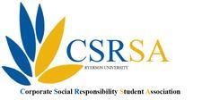Corporate Social Responsibility Student Association (CSRSA) logo