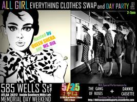 ALL GIRL EV'RYTHING Clothing Swap & Day Party (5/25...
