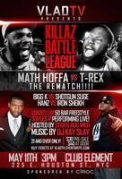 VladTV Killaz Rap Battle: Math Hoffa vs T-Rex, Loaded...