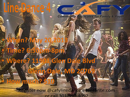 Line Dance for CAFY