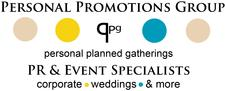 PPG, Perfectly Planned Gatherings (division of personal promotions group of companies) logo