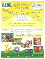 South County CRA Market and Family Fun Day