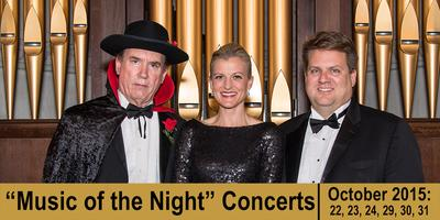 """Music of the Night"" Concert (SATURDAY, 10/31/15)..."