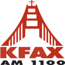 KFAX AM 1100 logo