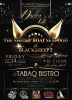 """Order up"" The Shrimp Boat Seafood Black Sheep 2 Release Party!"