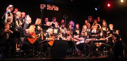 La Peña Chorus performing for La Peña's 38th Anniversary Benefit...