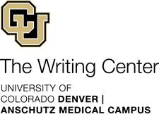 The Writing Center at CU Denver   CU Anschutz logo