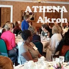 ATHENA Akron logo