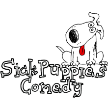 Sick Puppies Comedy Shows logo