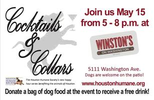 Houston Humane Society's Cocktails & Collars - May...
