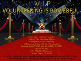 """Unsung Hero Award Ceremony"" Volunteering Is Powerful..."