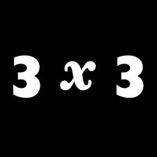 3x3, The Magazine of Contemporary Illustration logo