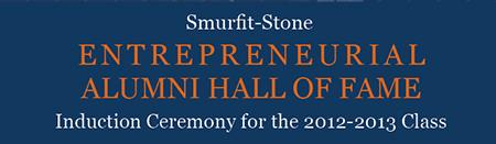 SLU's Entrepreneurial Alumni Hall of Fame Induction...