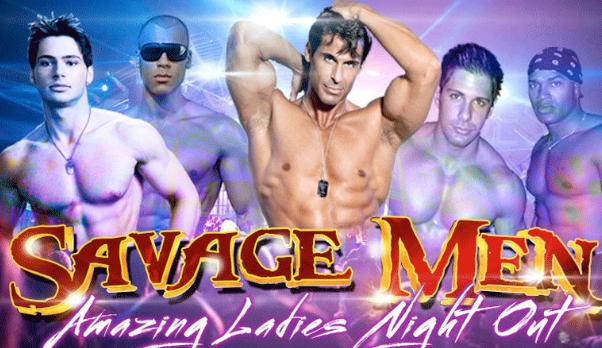Savage Men Male Revue - Atlantic City, NJ
