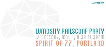 Lumosity RailsConf Party