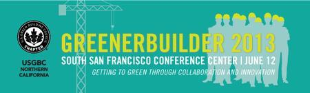 GreenerBuilder 2013