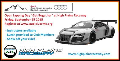 """ACNA / RMC Open Lapping Day """"Get-Together"""" at High..."""