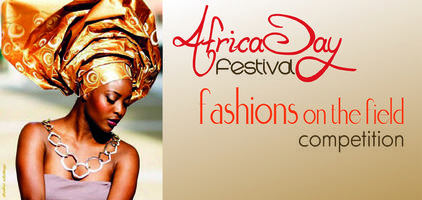 Africa Day Festival fashions on the field competition