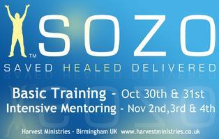 Bethel Sozo Basic Training & Intensive Mentoring - Oct...
