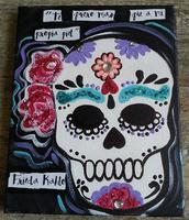 9/26 6:30pm Sugar Skull Party @ Paint Like Me Studio