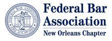 Federal Bar Association, New Orleans Chapter  logo