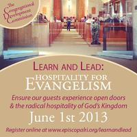 Learn & Lead 2013: Hospitality for Evangelism