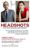 Headshot Day - Please pick the time that works for you.