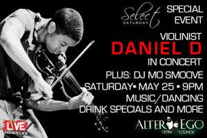 SELECT SATURDAY - HIP-HOP VIOLINIST DANIEL D
