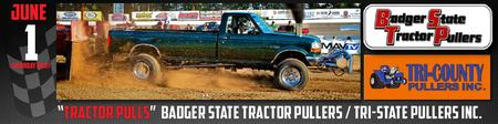 Season Opener for the Badger State Tractor Pullers & Tri-County...