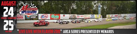 ARCA Racing Series Presented by Menards Herr's Live Life With...