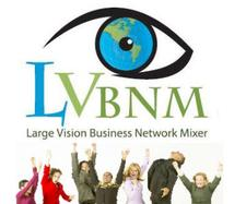 Large Vision Business Network Mixer logo