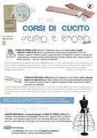 CORSO di CUCITO Creativo & Emotivo (primo livello)