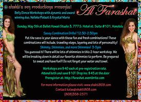 Belly Dance Workshops with Al Farashat!