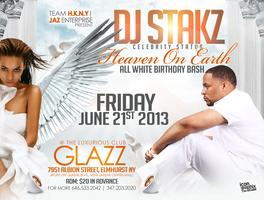 "DJ Stakz ""Heaven on Earth"" Celebrity Status ""All White Affair""..."