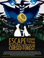 Escape from the Cursed Forest - Real Escape Game New...