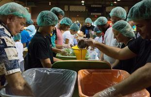 Pack the Forest Hunger Project 2015