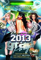 2013 GRAD KICKOFF PARTY | 18+  | 5.1.13