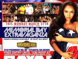 Industry Monday's @Havana Club With Upscale Entertainment