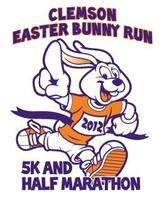 4th Annual Clemson Easter Bunny Run 5k & Half Marathon
