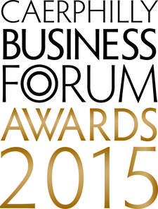 Caerphilly Business Forum Awards logo