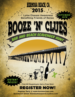 Booze-N-Clues Bar and Beach Scavenger Hunt
